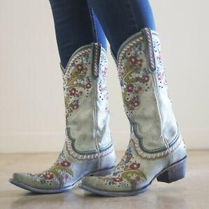 Lane-Boots-Chloe-Women-039-s-Cute-Western-Cowgirl-Boots