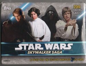 Topps-2019-Star-Wars-Skywalker-Saga-61Trading-Card-Blaster-Box-1-Exclusive-Card
