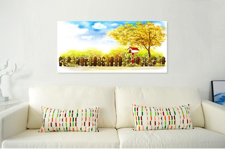 3D Fields of Gold 52 Fototapeten Wandbild BildTapete Familie AJSTORE DE