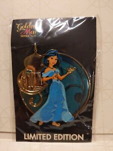 Disney Acme Hotart Golden Magic Princess Jasmine Pin Le300 Aladdin