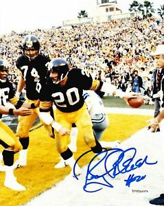 Pittsburgh-Steelers-Rocky-Bleier-Autographed-Signed-8x10-Photo-TSE-Auth