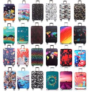 18-32-034-Travel-Protective-Luggage-Dust-Cover-Elastic-Thick-Suitcase-Protector-Bag