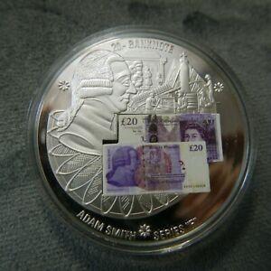 """2011 £20 Banknote Commemorative Coin Series """"F""""2007 Adam Smith"""