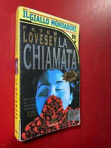 Peter LOVESEY - LA CHIAMATA , Giallo Mondadori Libreria 4=2484 (1996) Libro