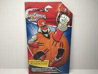 Power Rangers Super Megaforce Pumpkin Push Ins Halloween Decor Red Ranger