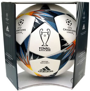 550eed269 ADIDAS FINAL KIEV 2018 UEFA CHAMPIONS LEAGUE MATCH BALL AUTHENTIC + ...