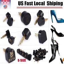 60PCS 5-Sizes High Heel Shoe Repair Tips Taps Pins Dowel Lifts Replacement USA
