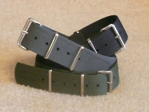 Genuine-Phoenix-Straps-MOD-NATO-UK-Admiralty-Grey-Black-Green-all-sizes-military