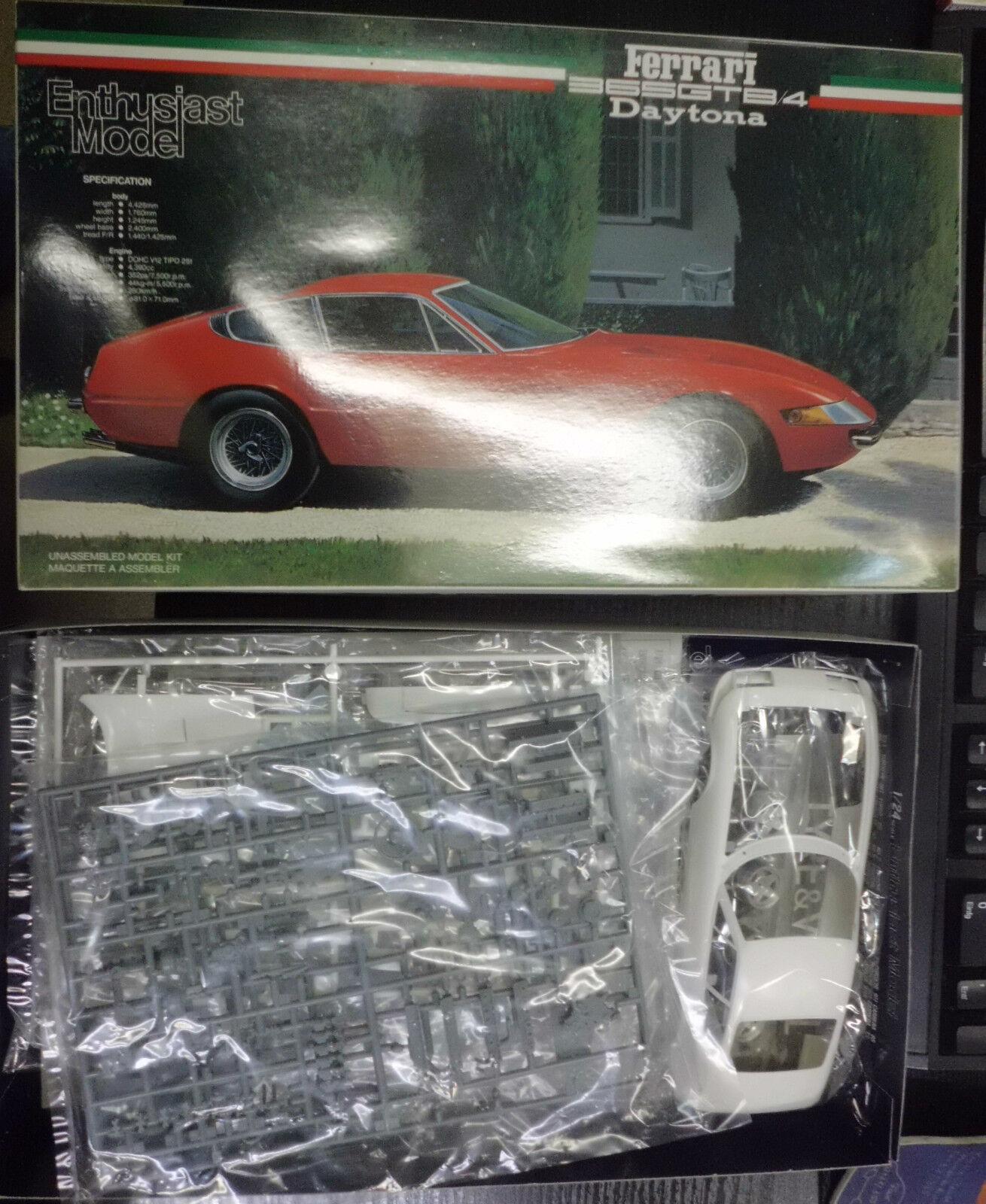 Fujimi ferrari 365 GTB Daytona 1 24 modelo maqueta de coche modelo coche Kit