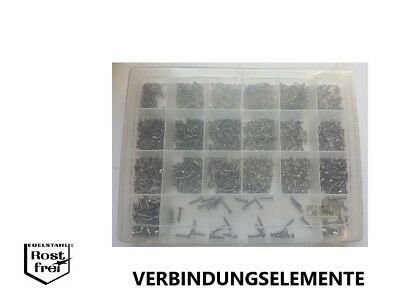 100 Edelstahl V2A Linsensenkkopf Blechschrauben DIN 7983 A2 3,5x19 C-H
