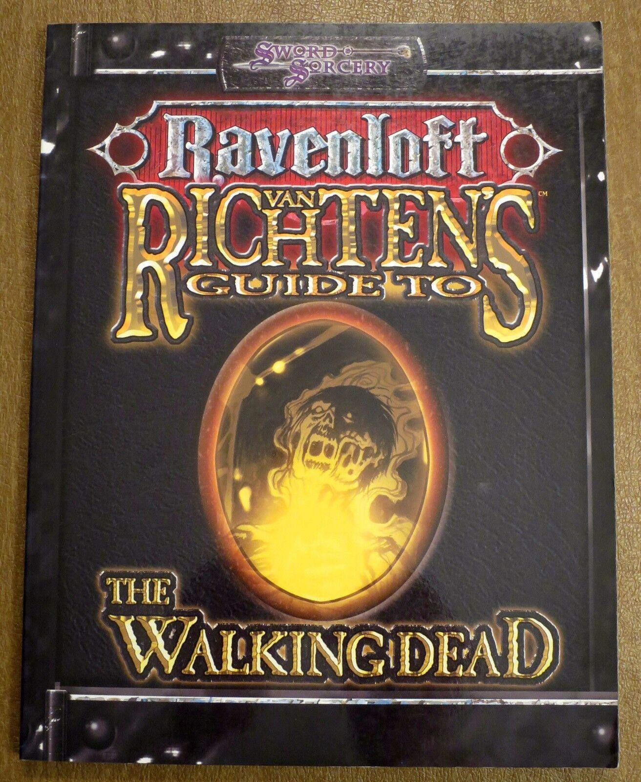 Ravenloft Van Richten's Guide to the Walking Dead NEW D&D 3.5