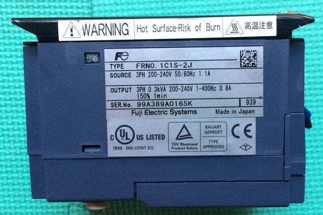 FRN0.1C1S-2J 1PC USED Fuji FRENIC-MINI 220V 0.1KW  plcBeste