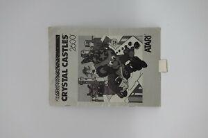CRYSTAL-CASTLE-manuale-di-istruzioni-per-ATARI-2600