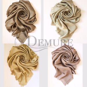 Silky-Shiny-Hijab-Scarf-Maxi-Wedding-Plain-Shimmer-Shawl-Wrap-Sarong-Elegant