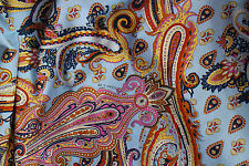 ETRO AUTHENTIC MADE IN ITALY PURE COTTON FABRIC CM 160 X 140