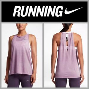71894b3a265d6 NEW  55 Nike Breathe® Women s Mesh Running Tank 831778-565 Rose Pink ...