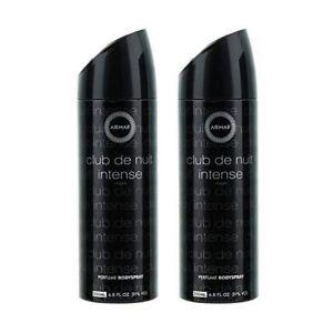 Armaf-Mens-Perfume-Body-Spray-Club-De-Nuit-Intense-Man-200ml-Twin-Pack