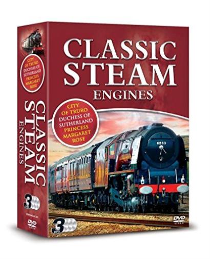 Documentary - DVD-Classic Steam Engines -3Dvd   [Region 2] (US IMPORT) DVD NEW