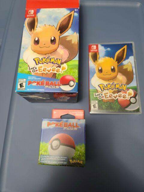 Pokémon: Let's Go, Eevee! - Poké Ball Plus Pack (Nintendo Switch, 2018)