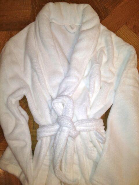 *NEW* PLUSH MEN'S Spa Bath Robe SOFT Large pockets & waist tie ON SALE!!