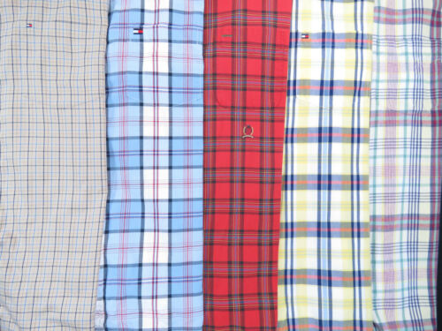 Lot Of 5 Tommy Hilfiger Short Sleeve Button Front