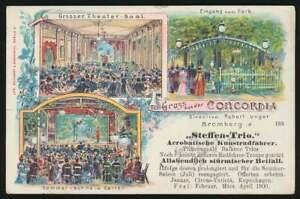AK-Bromberg-Lithographie-Gruss-aus-der-Concordia-gelaufen-1899-61529