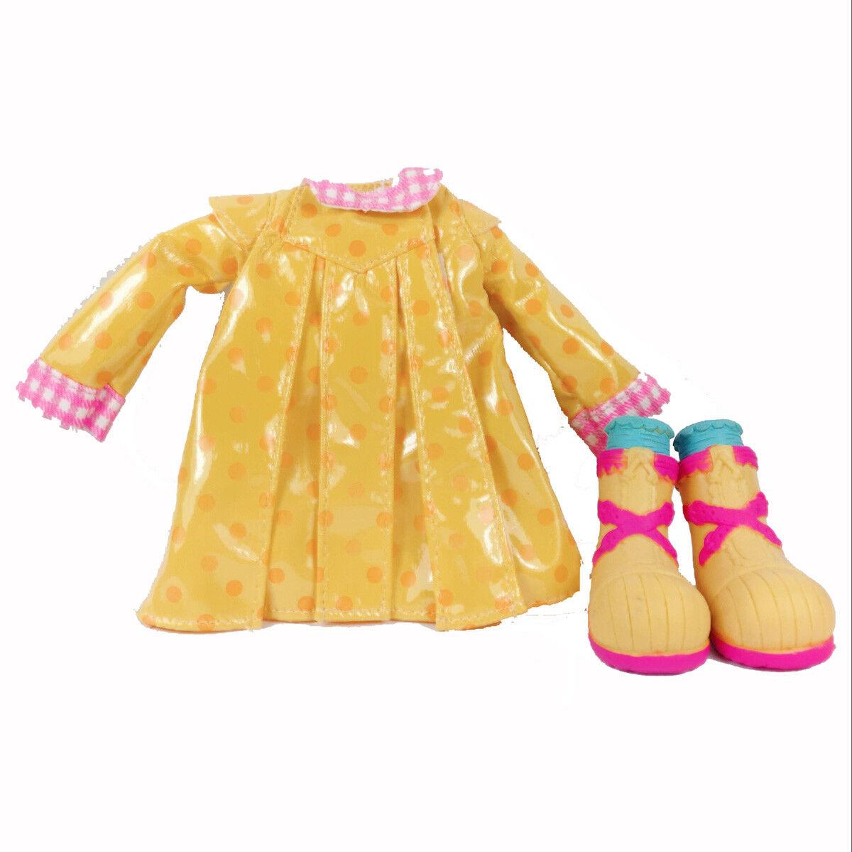 3 Kit MGA LALALOOPSY DOLL Fashion Outfit Clothes Dress Pajamas Raincoat Shoes 4