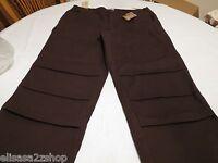 C.e Schmidt Workwear Classic Fit Straight Brown Pants 20 Short Carpenter Women's