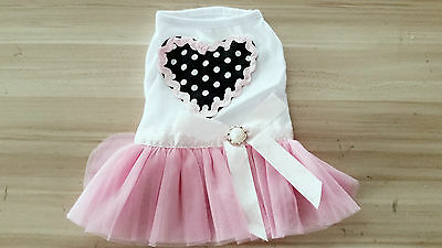 2016 New Fashion Summer Various Pet Puppy Small Dog Cat Clothes cute skirt dress