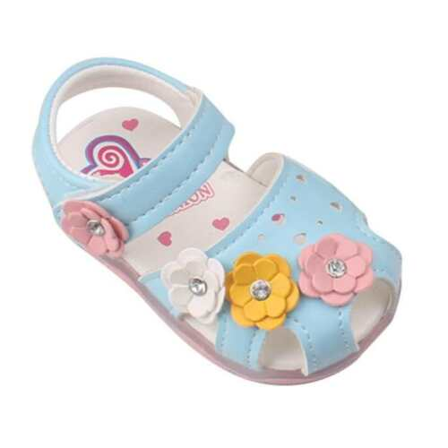 Toddler Kids Girls/' Princess Sandals Anti-slip Shoes Soft Sole Baby Beach Shoes