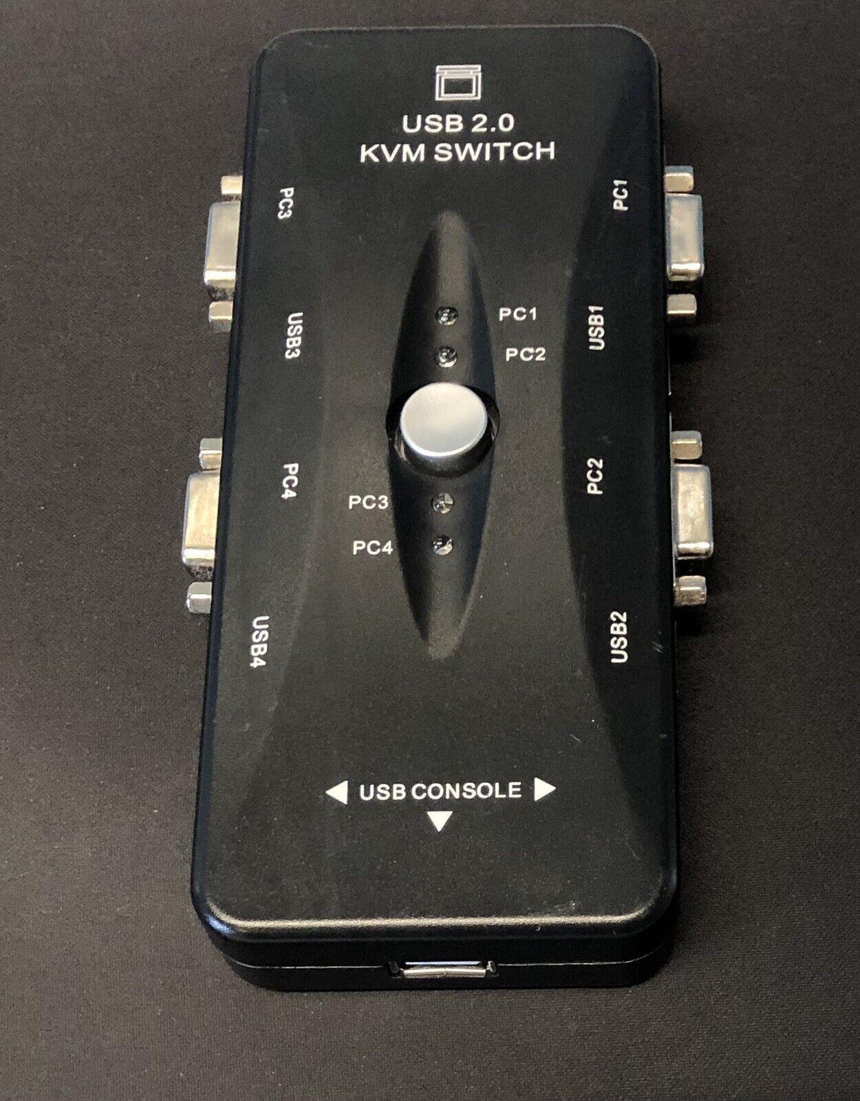 USB 2.0 KVM SWITCH KVM-41UA