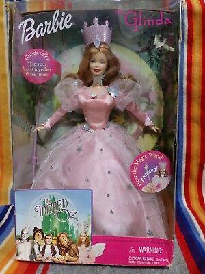 1999 Mattel Wizard Of Oz BARBIE AS GLINDa The good witch