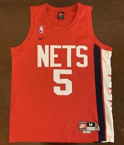 Rare Vintage Nike Rewind Throwback NBA New Jersey Nets Jason Kidd ... d3b760b1d