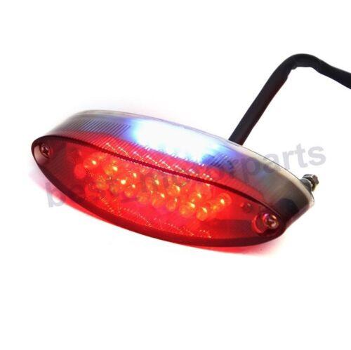 MOTORCYCLE RUNNING LICENSE 28 LED RED QUAD ATV BRAKE STOP REAR TAIL LIGHT NEW
