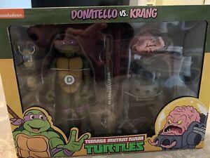 NECA TMNT Teenage Mutant Ninja Turtles DONATELLO VS KRANG NIB IN HAND