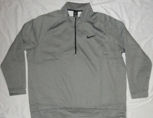 a57f5d0846def NEW! NIKE Therma Men's Long Sleeve Half-Zip Training Jacket (Choose ...