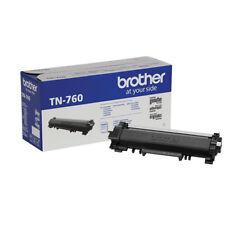 Brother Genuine TN760 Black High Yield Toner Cartridge