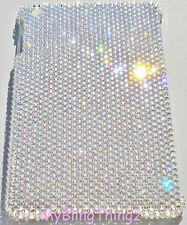 CLEAR Rhinestone Bling Case for iPad Mini 1 2 3 handmade with Swarovski Crystals