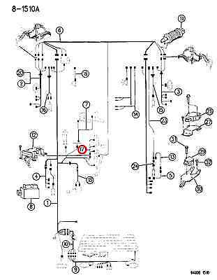 replacement parts apdty 53001100 transfer case vacuum line wiring harness  assembly fits 1984-1993 jeep cherokee 4wd see apdty 711664 for the transfer  case switch that this connects to this harness transmission & drive train  iglhaut gmbh