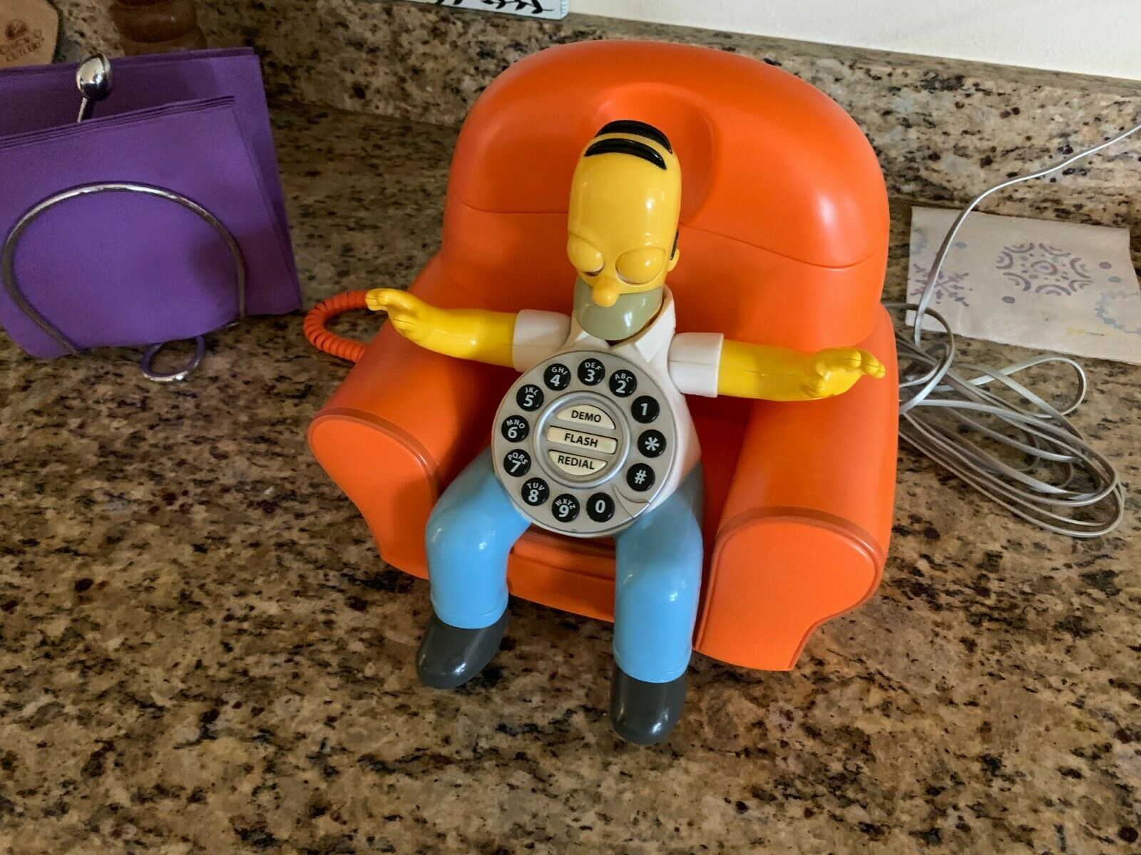 18/'/' The Simpsons Interactive Talking Homer Simpson Playmates NEW