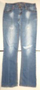 Rue-21-Distressed-Premiere-Denim-Jeans-Size-3-4-Long