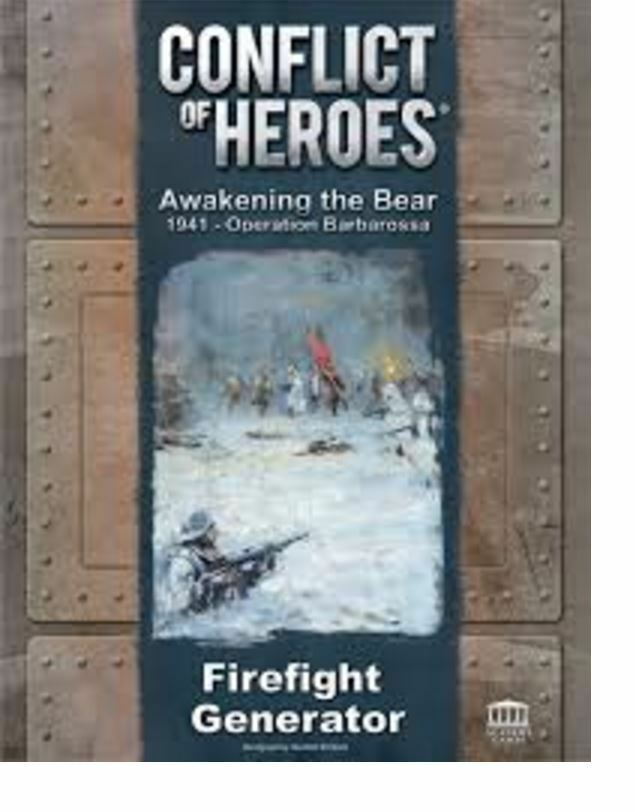 Conflict Of Heroes Wargame - The Awakening Ourson Fusillade Générateur