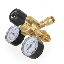2 Pressure Reducer Argon Mig Flow Meter Control Valve Welding Regulator Cga580