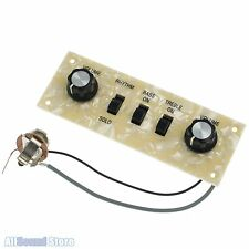 NEW HOFNER Violin Beatle Bass Wired Control Panel, Pearloid Plate Icon Ignition