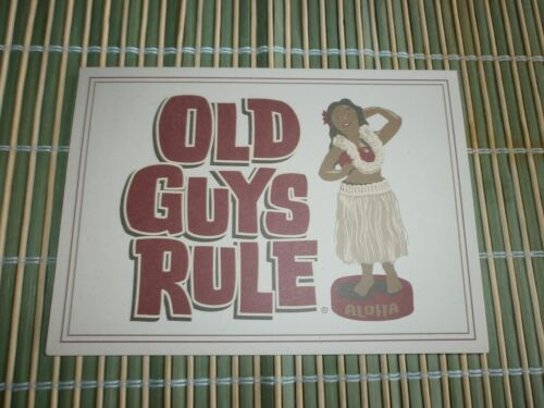 "10 OLD GUYS RULE GENIUNE CARDS WTTH ENVELOPES "" TO MY BIG KAHUNA "" 5"" X 7"""