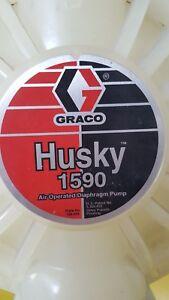 Graco-Husky-1590-DB2911-Druckluftbetriebene-Membranpumpe-Doppelmembranpumpe