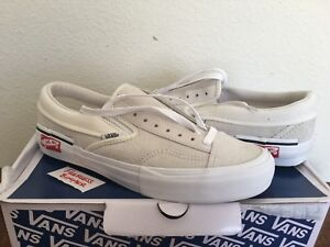 3200a487694 Vans Vault Slip-On Cap LX Deconstructed Inside Out Marshmallow White ...