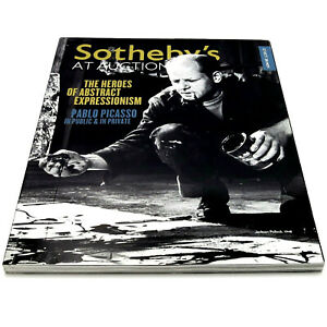 SOTHEBY-039-S-AT-AUCTION-Oct-Nov-2012-Magazine-PABLO-PICASSO-Jackson-Pollock-MOVIES