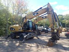 2012 Caterpillar M318d Wheel Excavator Low Hours Super Clean Aux Hyd Cat M318