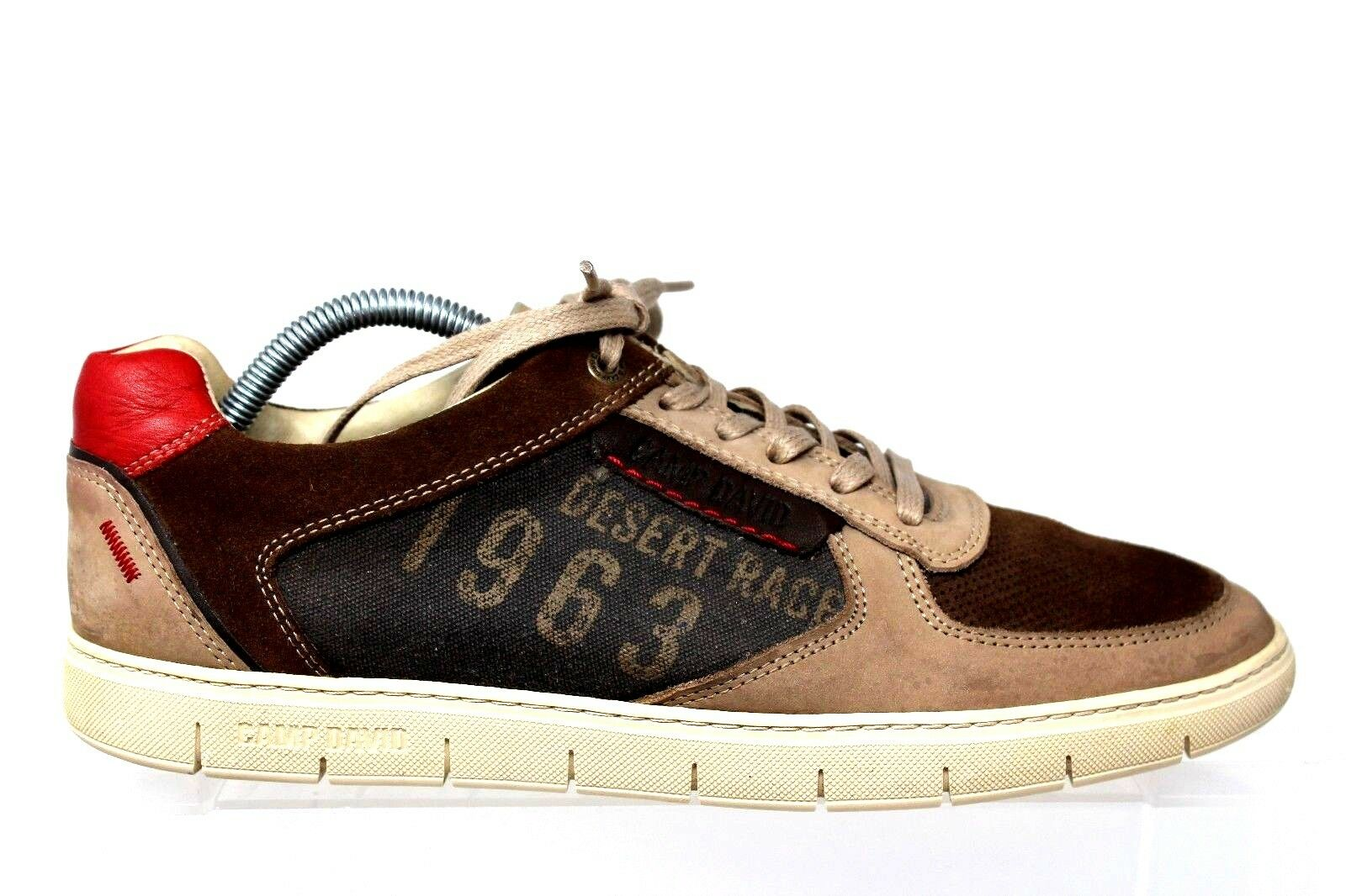 Camp David Desert Race 1963 Suede Leather Sneaker Mens 43 US 12